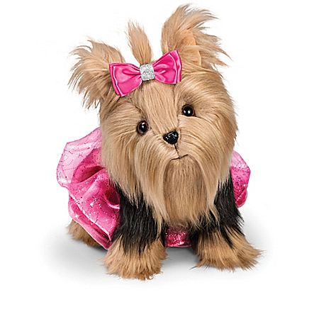 Hold That Pose Plush Yorkie & Accessory Collection