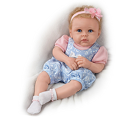 Linda Murray Livie's World Silicone Doll And Accessories