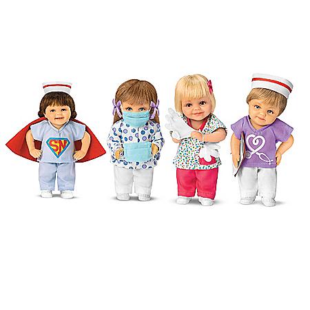 Cheryl Hill Nurses: Frontline Heroes Mini Doll Collection