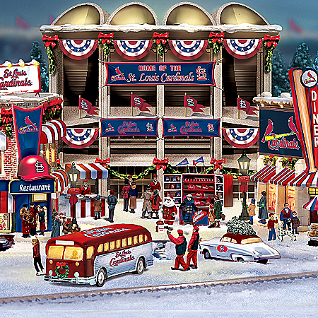 Christmas Village Collectibles St. Louis Cardinals Christmas Village Collection
