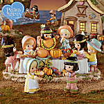 Precious Moments First Thanksgiving Village Collection