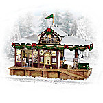 Christmas Train Station Railroad Accessory Collection