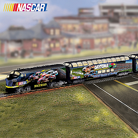 NASCAR Collectibles NASCAR Raceways Express Train Collection