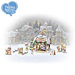 Precious Moments Visiting Santa Christmas Village Accessory Collection