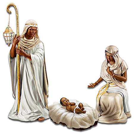 King Of Peace African American Nativity Figurines