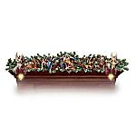 Thomas Kinkade Light-Up Nativity Christmas Decoration - Nativity Garland Collection