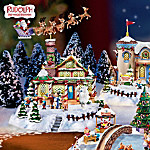 Rudolph's Christmas Town Animated Miniature Village Collection: Rudolph The Red-Nosed Reindeer