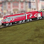 Cincinnati Reds Express Major League Baseball Train Collection