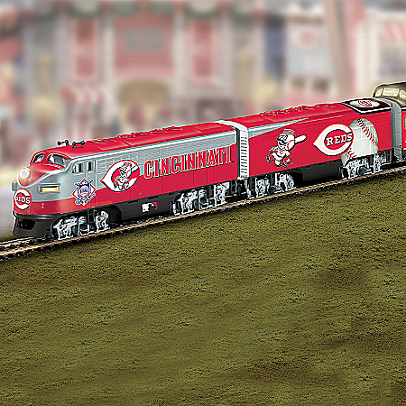 Cincinnati Reds&#153Express Major League Baseball&regTrain Collection