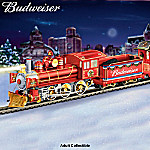 Budweiser Holiday Express Electric Train Collection: Collectible Budweiser Memorabilia
