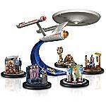 STAR TREK USS Enterprise NCC-1701 Figurine Collection - STAR TREK Fan Gift