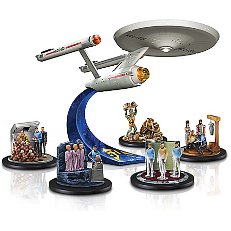 STAR TREK USS Enterprise NCC-1701 Figurine Collection: STAR TREK Fan Gift