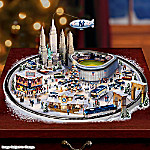 New York Yankees Baseball Fever Village Collection: MLB Christmas Home Decor