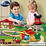 Disney Mickey Mouse Clubhouse Wooden Play Set Collection: Mickey's See Ya' Real Soon