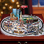 Home Decor Collectibles Boston Red Sox Baseball Fever Village Collection: MLB Christmas Home Decor