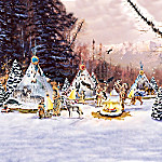 Christmas Village Collectibles Sacred Spirits Native American-Inspired Village Collection