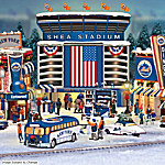 New York Mets Christmas Village Collection