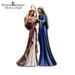 Christmas Nativity Sets Thomas Kinkade Blessed And Holy Night Nativity Figurine Collection