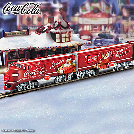 COCA-COLA Christmas Express Train Collection: Through The Years