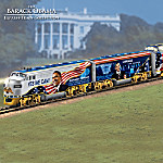 Barack Obama The Movement For Change Collectible Express Train Collection 917302