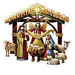 Debbie Mumm Peace On Earth Nativity Figurine Collection