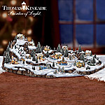 Thomas Kinkade Tiny Tidings Christmas Village Collection