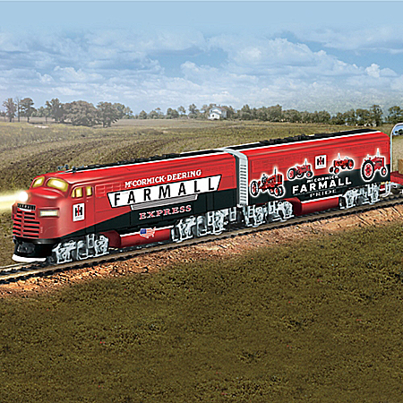 Farmall Tractor Express HO-Scale Train Collection: Farmall Delivers