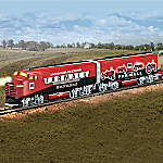 Hawthorne Village Farmall Tractor Express HO-Scale Train Collection: Farmall Delivers