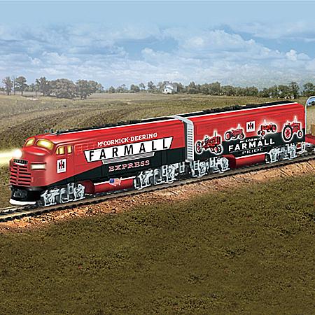 Farmall Tractor Express HO-Scale Train Farmall Delivers