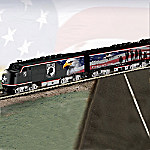 Hawthorne Village American Prisoners Of War POW MIA Express Train Collection