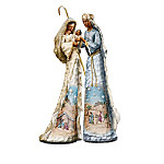 African American Nativity Figurine Collection: Ebony Elegance