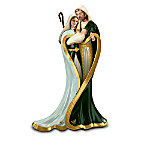 Irish Nativity Figurine Collection: Emerald Elegance