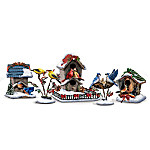 Songbirds Holiday Motion-Activated Musical Figurine Collection