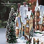 Christmas Village Collectibles Thomas Kinkade Winter Splendor Christmas Village Collection