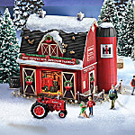 Farmall Illuminated Holiday Village Collection