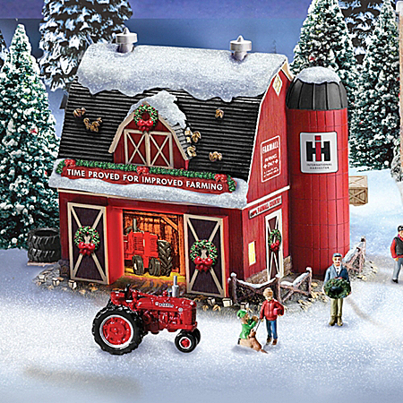 Farmall Illuminated Holiday Village Collection