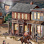 John Wayne Illuminated Western Village Collection