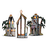 The Elegant Holy Night Of Bethlehem Lighted Nativity Accessory Collection