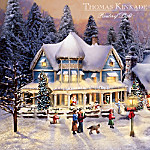 Christmas Village Collectibles Thomas Kinkade's Collectible Village Christmas Collection