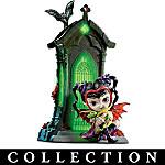 Temptress At Twilight Halloween Village Collection