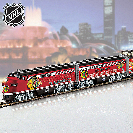 2011 Stanley Cup NHL® Chicago Blackhawks® 2013 Stanley Cup® Champions Train Collection: Championship Express