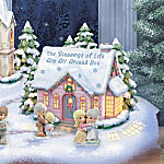 Precious Moments Thoughts Of Christmas Village Collection
