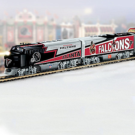 NFL Atlanta Falcons Express Electric Train Collection