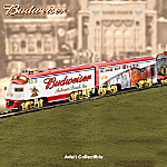 Budweiser Through The Years Express: Collectible Electric Train Collection