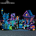 Christmas Village Collectibles Tim Burton's Nightmare Before Christmas Black Light Village Collection