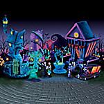 Tim Burton's Nightmare Before Christmas Black Light Village Collection
