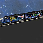 Hawthorne Village STAR WARS Express Glow-In-The-Dark Train Collection