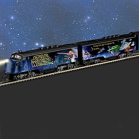 STAR WARS Express Glow-In-The-Dark Train Collection