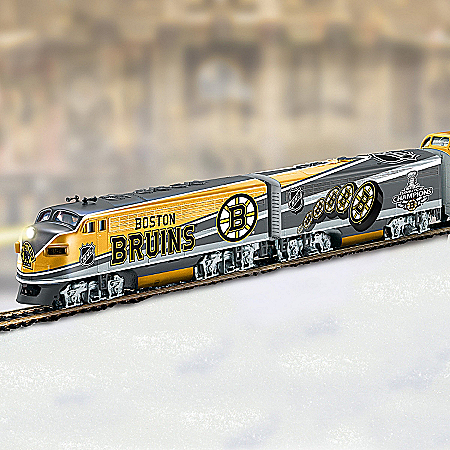 NHL® Boston Bruins® Stanley Cup Champions Train Collection: Championship Express
