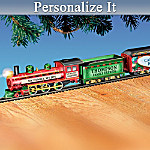 Personalized Christmas Train Collection: My Family, My Joy